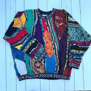 Vgt COOGI Crewneck Oversized unisex Sweater